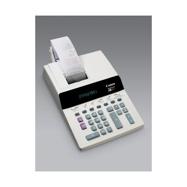 1 st ck tischrechner druckend canon b rorechner p29 div. Black Bedroom Furniture Sets. Home Design Ideas