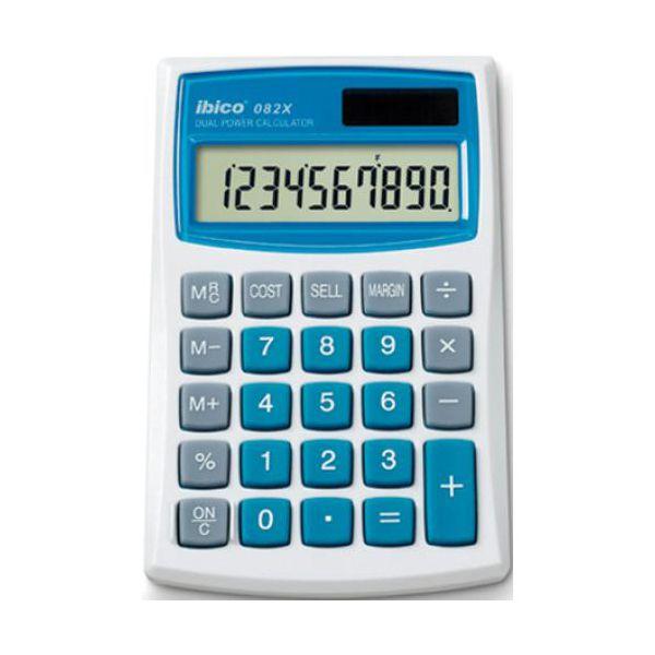 calculatrices de poche calculatrice ibico 082x. Black Bedroom Furniture Sets. Home Design Ideas