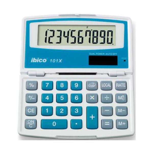 calculatrices de poche calculatrice ibico 101x. Black Bedroom Furniture Sets. Home Design Ideas