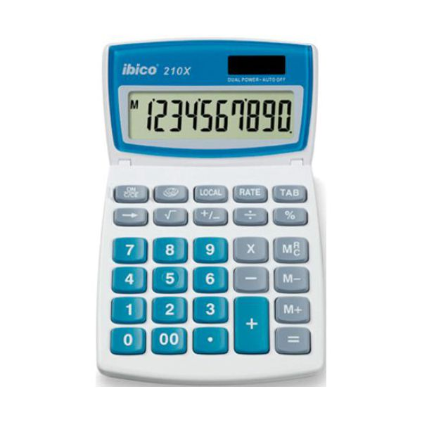 calculatrices de table calculatrice ibico 210x. Black Bedroom Furniture Sets. Home Design Ideas