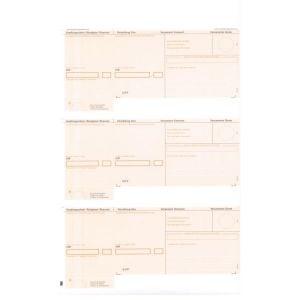 1'000 Blatt mit 3 Einzahlungsscheinen ESR orange VESR (Post) gerahmt US Legal 357 x 217 mm