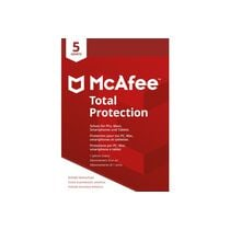 MCAFEE Total Protection MTP00GNR5RAA 5 Devices (Code in a box)
