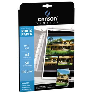 CANSON DIGITAL Fotopapier Performance, DIN A4, 210 g qm