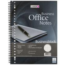 LANDRÉ Businessblock mit Spirale, A4, 100 Blatt, kariert