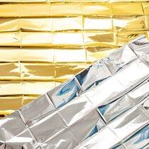 HYGOSTAR Rettungsdecke, 1.600 x 2.100 mm, silber gold