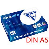 Clairalfa Multifunktionspapier, DIN A5, 80 g qm, extra weiss
