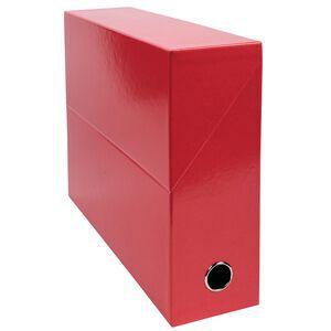 EXACOMPTA Archivbox Karton Rückenbreite 90 mm dunkelblau