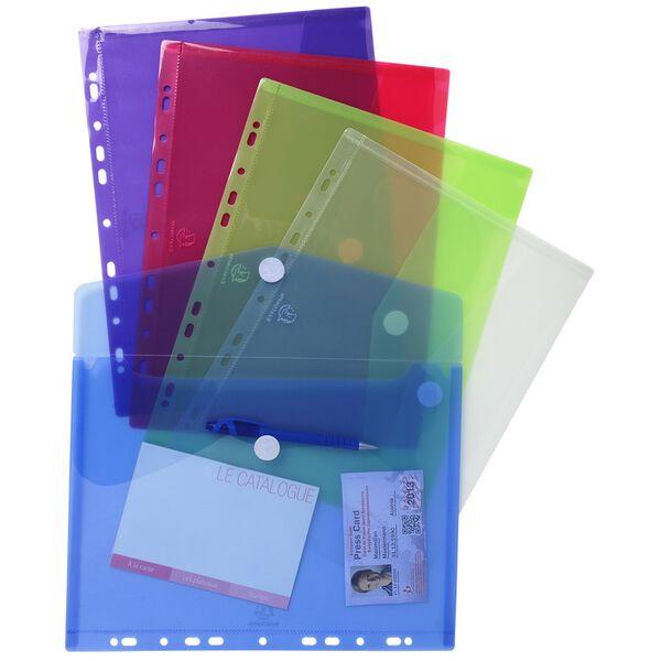 EXACOMPTA Dokumentenmappe mit Kettverschluss weiß