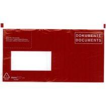 BÜROLINE Dokumententasche D F C6 5 306249 rot 250 Stück