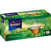 "Messmer Tee ""Pfefferminze"", frisch-würzig, 25er Packung"
