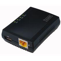DIGITUS Mini Multifunktions Printserver, 1 x USB 2.0