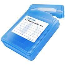 """LogiLink HDD-Box für 3,5"""" Festplatten, blau"""