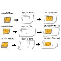 LogiLink SIM-Karten-Adapter-Set, Nano Micro Standard SIM