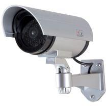 LogiLink Kamera-Attrappe, silber