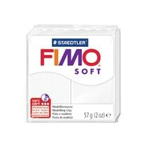 FIMO Knete Soft 57g 8020-0 weiss