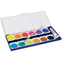 STAEDTLER Deckfarbkasten Noris, 12 Farben