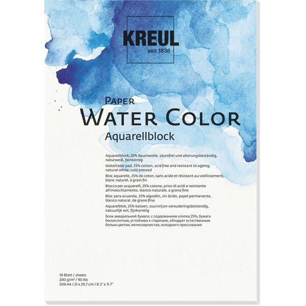 KREUL Künstlerblock SOLO Goya Paper Water Color 240x320 mm 20 Blatt