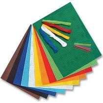 folia Stickkarton-Set, 175 x 245 mm, 300 g qm, 25-teilig
