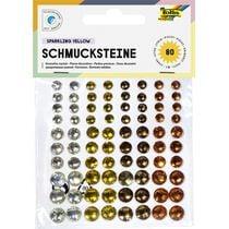 """folia Schmucksteine """"Summerheat"""", selbstklebend"""