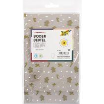 folia Weihnachts-Bodenbeutel, Masse: (B)95 x (H)160 mm