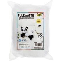 folia Bastelwatte Füllwatte, weiss, Inhalt: 50 g
