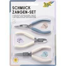 folia Schmuckzangen-Set, 3-teilig, blau