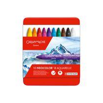 CARAN D'A Wachspastelle Neocolor II 7500.310 10-farbig assortiert
