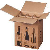 SMARTBOXPRO Flaschen-Versandkarton, für 1 Flasche