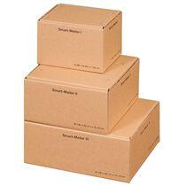 "SMARTBOXPRO Paket-Versandkarton ""Smart Mailer"", gross, braun"