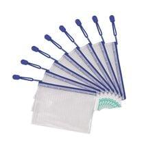 tarifold Reissverschlusstasche ZIPPER, DIN A6, PVC, blau
