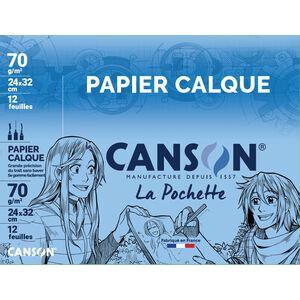 CANSON technisches Zeichenpapier 70//75 g//qm DIN A4
