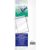 BÜROLINE Prestigessverschl. Beutel 90x110mm 421090 transparent 10 Stück