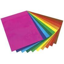 folia Fensterfolie, 230 x 330 mm, farbig sortiert