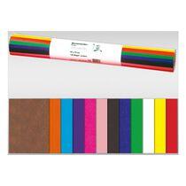 URSUS Papie de soie 50x70cm 4622299 coloré 5 feuilles