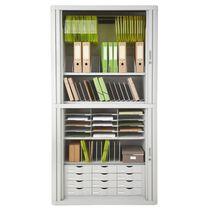 PAPERFLOW Belegfach, 9 Fächer, feste Einteilung, schwarz