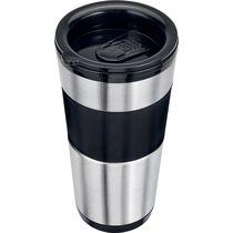 CLATRONIC Kaffeemaschine to go KA 3733, schwarz silber