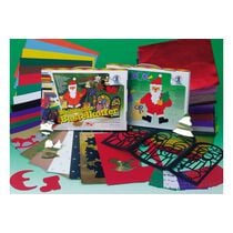 URSUS Bastelkoffer 25x35cm 15290099 Weihnachten 53 Blatt