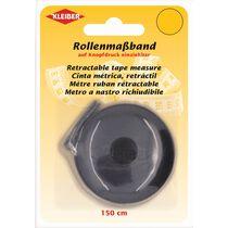 KLEIBER Schneider-Rollmassband, 150 cm, schwarz