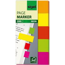 Sigel Haftmarker 100x50 sort.