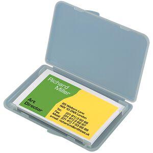 SIGEL Etui Cartes De Visite 89x57mm VA140 Transparentsparent Pour 25