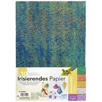 folia Irisierendes Papier, 75 g qm, 230 x 330 mm, 10 Blatt