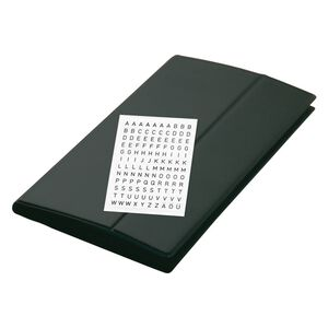 SIGEL Portefcarte Visite 300x180mm VZ175 Noir Pour 288 Cartes