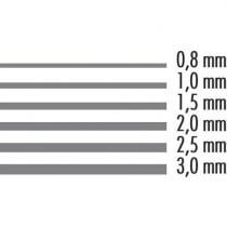 Graukarton 1,0 110x80 700g/Bg.