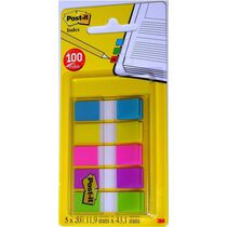 POST-IT Haftmarker Index 11,9 x 43,2 mm sortiert...