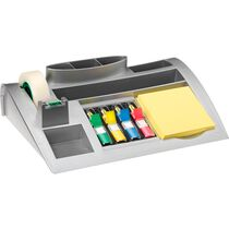 POST-IT Organizer silberergrau C50 mit 810, 654, 4x683