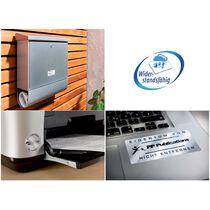 AVERY ZWECKFORM Typenschild-Etiketten 45,7x21,2mm L6009-20 silberer, Laser 960 St. 20 Blatt