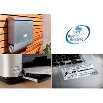 AVERY ZWECKFORM Typenschild-Etiketten 25,4x10mm L6008-20 silberer, Laser 3780 St. 20 Blatt