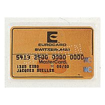 BüroLine Stecketui Kreditkarten Polypropylen glatt