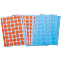 LEGAMASTE Klebepunkte 19mm 7-243000 rot-blau 1040 Stück