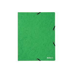 Gummibandmappe A4 Karton 355gm2 grün